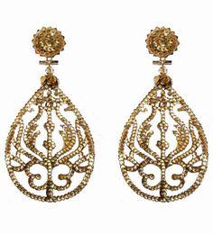 Oorbellen - Earrings - Dublos - www.pearlsandbuttons.nl Drop Earrings, Jewelry, Fashion, Moda, Jewels, Fashion Styles, Schmuck, Drop Earring, Jewerly