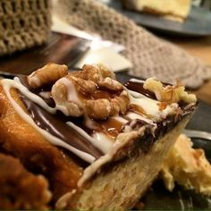 //First Day of Autumn_She rules tonight// cheesecake Noci&Caramello #natbakery #cheesecake #bakery #cake #biologico #natural #foodporn #americanfood #aversa #napoli