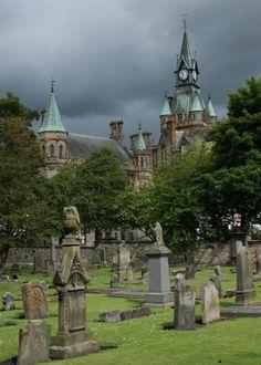 Dunfermline Abbey Churchyard Scotland