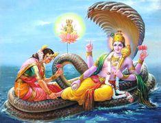 within the hindu trinity of Brahma, Vishnu and Shiva, Brahma is the creator, Vishnu the preserver and Shiva the destroyer.