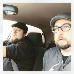 We're old and tired. Heading home. #namm #roadtrip by _hearandnow