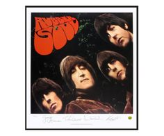 The Beatles 'Rubber Soul' Limited Edition Lithograph Print