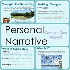 narrative personal story essay