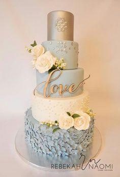 Love this cake made by Rebekah Naomi cake designs