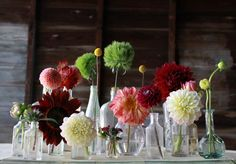 I love this idea. Late Summer Wedding - love the colors!