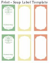 Free Printable Cigar Band Soap Label Template | soap | Pinterest ...