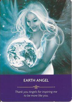 Earth angel x Spiritual Life, Spiritual Awakening, Archangel Prayers, Angel Guide, Angel Quotes, Divine Light, Psychic Mediums, Angel Cards, Oracle Cards