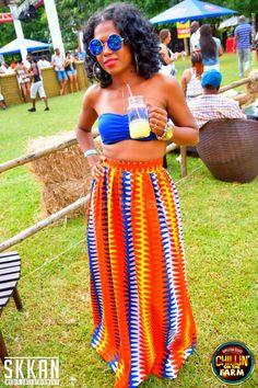 #maxiskirt #africanprint summer days #jamaica