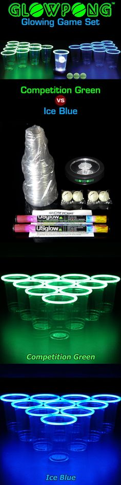 Party Games and Activities 102411: Drinking Games For Adults Beer Pong Set Glow In The Dark Party Women Men Best -> BUY IT NOW ONLY: $79.95 on eBay!
