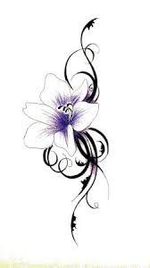 Resultado de imagen de tattoo lilie
