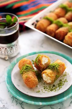 Discover recipes, home ideas, style inspiration and other ideas to try. Lebanese Desserts, Lebanese Recipes, Turkish Recipes, Persian Recipes, Arabic Dessert, Arabic Sweets, Arabic Food, Ricotta, Kunafa Recipe