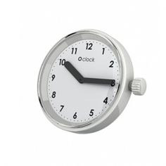 O'Clock Clock Face Replacement Clock Face Interchangeable Face White Numbers #OClock