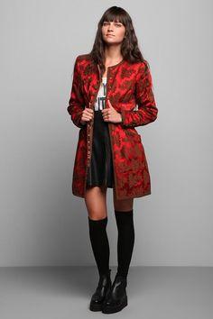 Vintage '90s Oscar De La Renta Textured Coat #urbanoutfitters #vintage 90's is considered vintage now? Lol