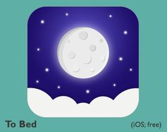 To Bed App-o Bed It's 3 a.m. and you're hyperfocused on a BuzzFeed quiz instead of getting some much needed shuteye. Sound familiar? Sometimes falling asleep isn't the problem, it's the getting to bed part that gives you trouble. That's where To Bed comes in. Based on information about your age and wake up times, To Bed reminds you when you should start preparing to hit the sack. Because, sometimes all an ADHDer needs is a friendly reminder that it's time for bed!