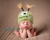The CUTEST crochet hats, etc. LOVE these. Man, I'd be out a LOT of money if I had a little one!