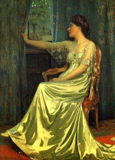 The colour is amazing! Edmund Hodgson Smart British painter. 1873–1942