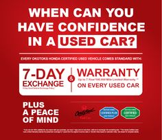 Okotoks Certified Program - Get Your Certified Today! Used Cars, Honda, Vehicles, Rolling Stock, Vehicle