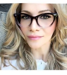 e8c2b65925  9.9 - 50S Big Large Thin Brown Cat Eye Pinup Nikita Wayfe Fashion  Eyeglasses Frames L  ebay  Fashion