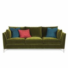 090-70COMOJADESO 94  Jade Upholstered Sofa