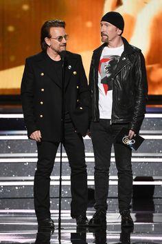 Bono & Edge at The Grammy Awards, 2018 @U2