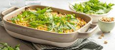 witte kool ovenschotel? Heerlijke smaken gecombineerd met een krokante bovenlaag! Paleo, Keto, Quiche, Seaweed Salad, Spinach, Bbq, Food And Drink, Vegetables, Mousse