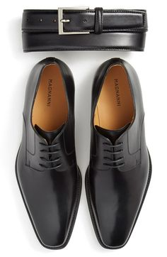 Magnanni Belt & Plain Toe Derby (Men) available at #Nordstrom
