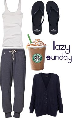 """lazy Sunday"" by rayban-converse ❤ liked on Polyvore,$11.99 #wholesaledesignerhub.com"