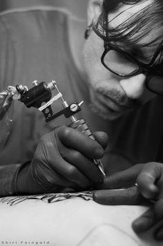 Tattoo Artist Chaim Machlev