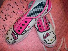 Hello Kitty  summer canvas shoes