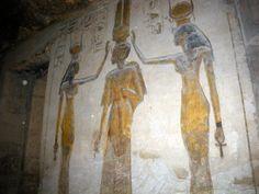 Nefertari temple of Abu Simbel