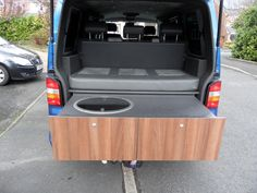 Rear pull out draw style kitchen on rails? - VW T4 Forum - VW T5 Forum