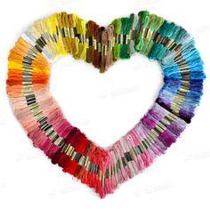 de unieke stijl 100 verschillende kleuren kruissteek borduren katoen floss strengen draad naaien kit gratis in van op Aliexpress.com