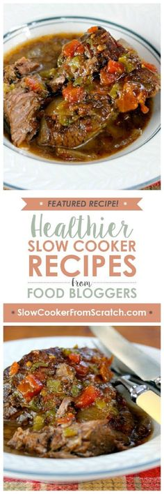 Low-Carb Slow Cooker Tex-Mex Pot Roast from The Perfect Pantry is a perfect crockpot dish to make on the weekend and have leftovers to enjoy all week, and this recipe is also Keto, low-glycemic, gluten-free, and South Beach Diet friendly. And this is about as easy as it gets for delicious pot roast from the slow cooker!  [featured on SlowCookerFromScratch.com]