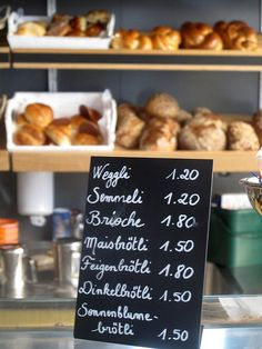 Café Milchbar, Zürich - will be going here! Zermatt, Corner Bakery, Pop Up Market, Bakery Cafe, Food Places, Pain, Love Food, Tapas, The Best