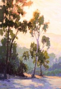 Pastel Tutorial   How to Paint Light in the Landscape