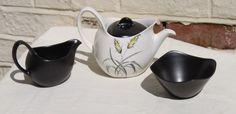 Bali Hai Tea Pot, Sugar Bowl and Milk Jug. Mid Century Modern c1960s by Midwinter Pottery of England. by AtticBazaar on Etsy https://www.etsy.com/uk/listing/268174217/bali-hai-tea-pot-sugar-bowl-and-milk-jug