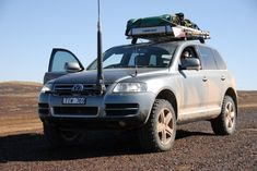 Set-up For Outback Travel