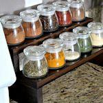 Herbs & Spices: Storage Tips Guide PLUS recipes to make you own blends like Apple Pie, Pumpkin Pie, Italian Seasoning, Poultry Seasoning, No Salt Seasoning, and Cajun Kicker