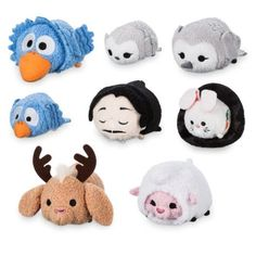 Exclusive First Look at the Expo Exclusive Tsum Tsum Sets! Tsum Tsum Bag, Tsum Tsum Sets, Disney Tsum Tsum, Disney Plush, Disney Junior, Disney Fun, D23 Expo 2017, Pixar Shorts, Disney Stuffed Animals