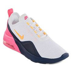 Nike Air Max Motion 2 Womens Running Shoes Lace-up - JCPenney Lacing Shoes For Running, Best Running Shoes, Best Sneakers, Air Max Sneakers, Buy Boots Online, Rubber Shoes, Black Patent Leather, Leather Shoes, Running Women