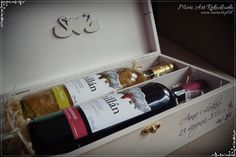 Wedding gift, wooden handmade box for wine, pic. Wedding Gifts, Decoupage, Wine, Box, Handmade, Wedding Day Gifts, Wedding Giveaways, Wedding Favors, Boxes