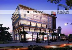 Expertly crafted 3D Exteriors!! #DesignDomain #Indore