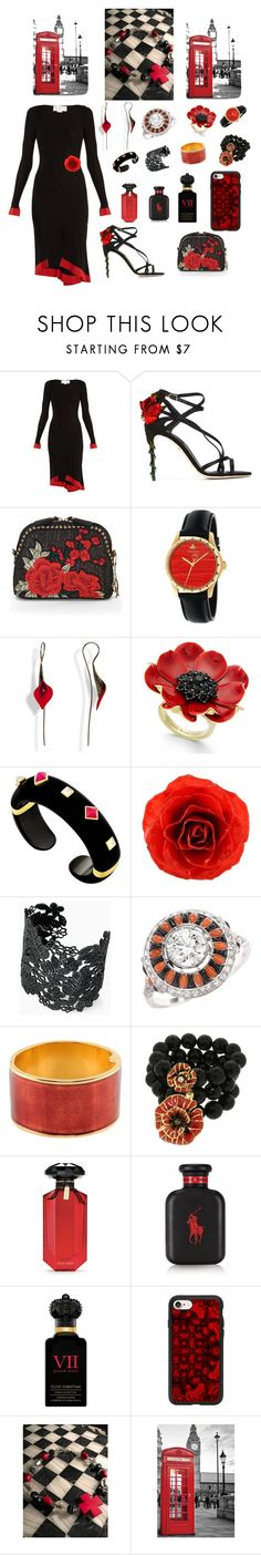 """""""Untitled #1660"""" by dkerbyg ❤ liked on Polyvore featuring Esteban Cortazar, Dolce&Gabbana, Chesca, Gucci, Kate Spade, Margot McKinney, NOVICA, Stella & Dot, Dsquared2 and Misis"""