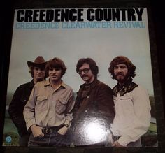 Creedence Clearwater Revival - Creedence Country - Vinyl Record Album LP  #FolkCountryRock