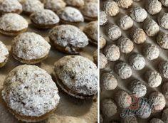 Plněné ořechy a oříšky – nejlepší recepty | NejRecept.cz Four, Christmas Cookies, Creme, Muffin, Food And Drink, Chocolate, Drinks, Breakfast, Top Recipes