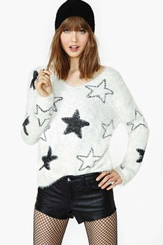 Soft Star Sweater