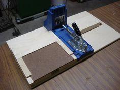 Kreg Pocket Hole Jig/ Storage - by cFurnitureGuy @ LumberJocks.com ~ woodworking community