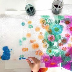 Learn how to paint lace and turn the colorful result into a beautiful DIY lace wall hanging. This is a unique and fun project for kids or adults! Fun Projects For Kids, Art Activities For Kids, Art For Kids, Art Projects, Motor Activities, Sensory Activities, Watercolor Art Diy, Liquid Watercolor, Watercolor Projects