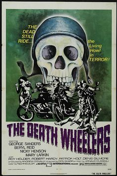 The Death Wheelers - Hell on Wheels: Vintage outlaw biker movie posters