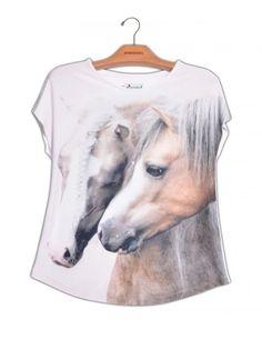 Camiseta Cavalo Trança www.usenatureza.com #UseNatureza #JeffersonKulig